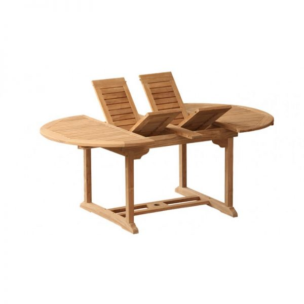 Oval Double Extend Table