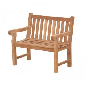 teak garden furniture bench