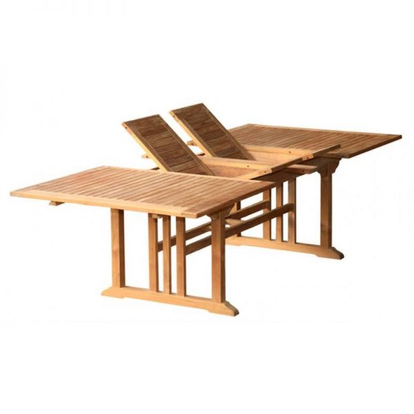 recta extend double table