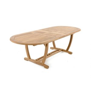barel oval extending table